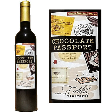 Ficklin Chocolate Port Sauce 500ML