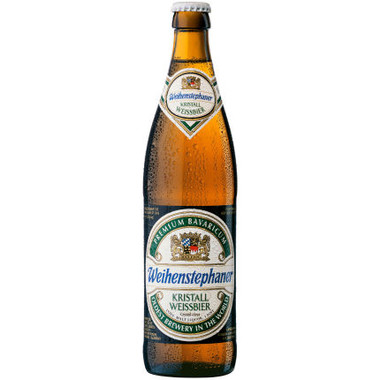 Weihenstephaner Kristall Weissbier (Germany) 16oz