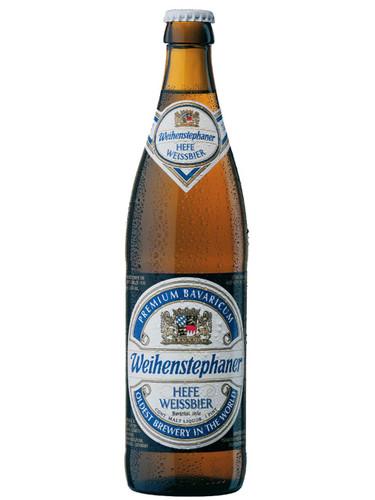Weihenstephaner Hefe Weissbier (Germany) 16oz