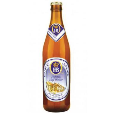 Hofbrau Munchen Munchner Kindl Hefe Weizen 16.9oz (Germany)