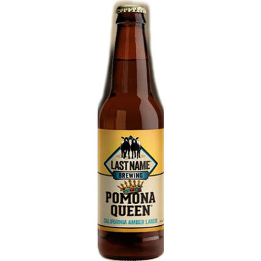 Last Name Pomona Queen California Amber Lager 22oz