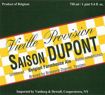 Saison Dupont Belgian Farmhouse Ale 750ml