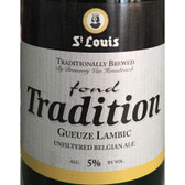 St Louis Gueuze Fond Tradition Lambic Belgian Ale 375ml