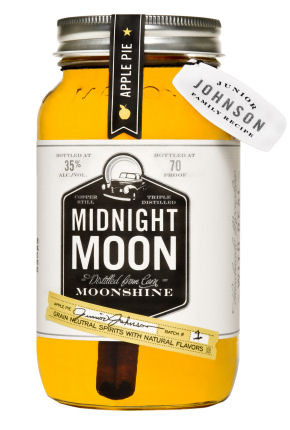 Junior Johnson's Midnight Moon Apple Pie Moonshine 750ml
