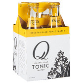 Q Tonic Superior Tonic Water 6.3oz (187ml) 4-Pack