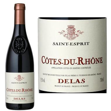 Delas Freres Cotes du Rhone Saint Esprit Rouge