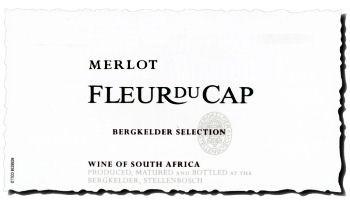 Fleur du Cap Merlot