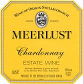 Meerlust Stellenbosch Chardonnay