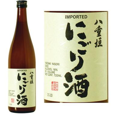 Yaegaki Unfiltered Nigori Samurai Sake 720ML