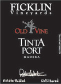 Ficklin Old Vine Tinta Port NV