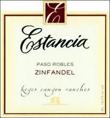 Estancia Keyes Canyon Ranches Paso Robles Zinfandel 2009