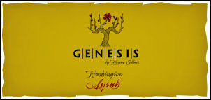 Genesis by Hogue Columbia Valley Syrah Washington