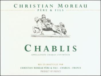 Domaine Christian Moreau Chablis AC