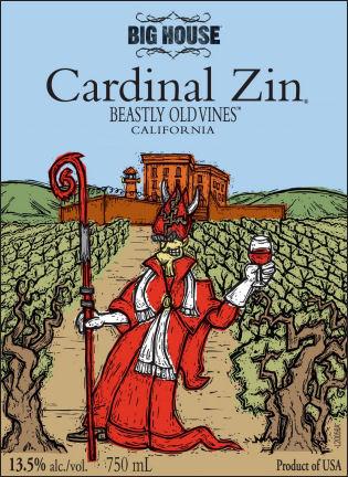 Big House Beastly Old Vines Cardinal Zinfandel