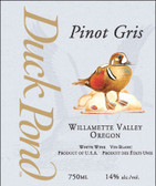 Duck Pond Willamette Pinot Gris Oregon. 768154231496