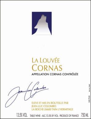 Jean-Luc Colombo La Louvee Cornas