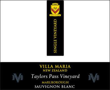Villa Maria Taylors Pass Vineyard Sauvignon Blanc