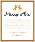 Folie a Deux Menage a Trois California Chardonnay