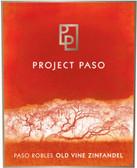 Project Paso Paso Robles Old Vine Zinfandel 2009