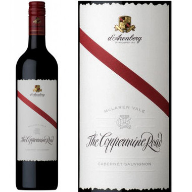 d'Arenberg The Coppermine Road McLaren Vale Cabernet