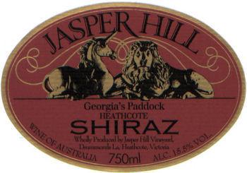 Jasper Hills Georgia's Paddock Shiraz