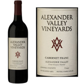 Alexander Valley Vineyards Wetzel Family Estate Alexander Cabernet Franc