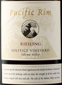 Pacific Rim Solstice Vineyard Riesling