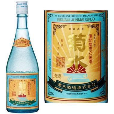Kikusui Junmai Ginjo Sake 720ml