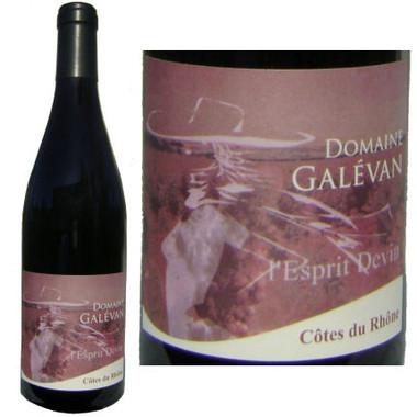 Domaine Galevan l'Esprit Devin du Vin Cotes du Rhone Red