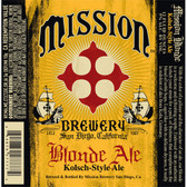 Mission Brewery Blonde Kolsch-Style Ale 22oz