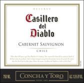Concha Y Toro Casillero del Diablo Reserve Cabernet