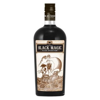 Black Magic Black Spiced Rum 750ml