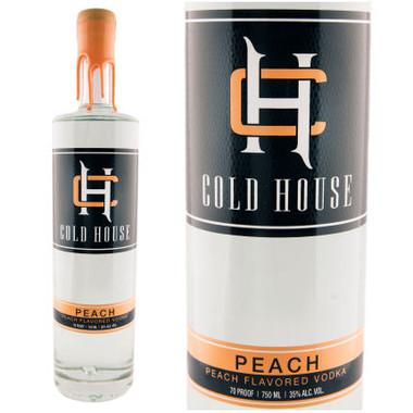 Cold House Peach Flavored Vodka 750ml