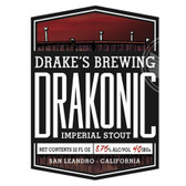 Drake's Brewing Drakonic Imperial Stout 22oz