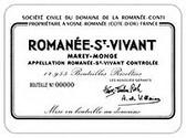 DRC Domaine de la Romanee-Conti St. Vivant