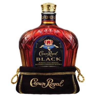 Crown Royal Black Canadian Whisky 750ml