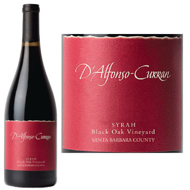 D'Alfonso-Curran Black Oak Vineyard Santa Barbara Syrah