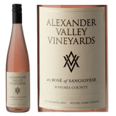 Alexander Valley Vineyard Sonoma Rose of Sangiovese