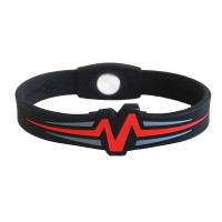 "Mojo-Raptor Band 8""  Black and Red & Grey"