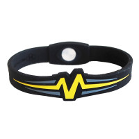 "Mojo-Raptor Band 8""  Black with Yellow & Grey"
