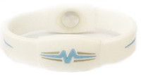 "Mojo-Advantage Band 7""  White with Blue and Grey"