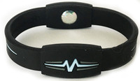 "Mojo-Advantage Band 8""  Black with Light Blue and Grey"