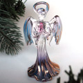 Hand Blown Glass Angel Christmas Ornament