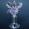 Orchid Bell Hand Blown Glass