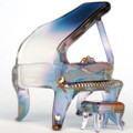 Hand Blown Glass Piano
