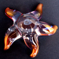Hand Blown Glass Starfish