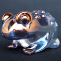 Hand Blown Glass Toad