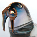 Hand Blown Glass Walrus