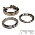 PPE Interlocking V-Band Exhaust Flange Set