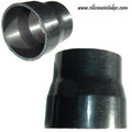"Frozen Boost Silicone Reducer, 1.5"" to 1.25"" - Black"